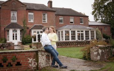 Bartley Lodge Hotel engagement shoot with Laura and James