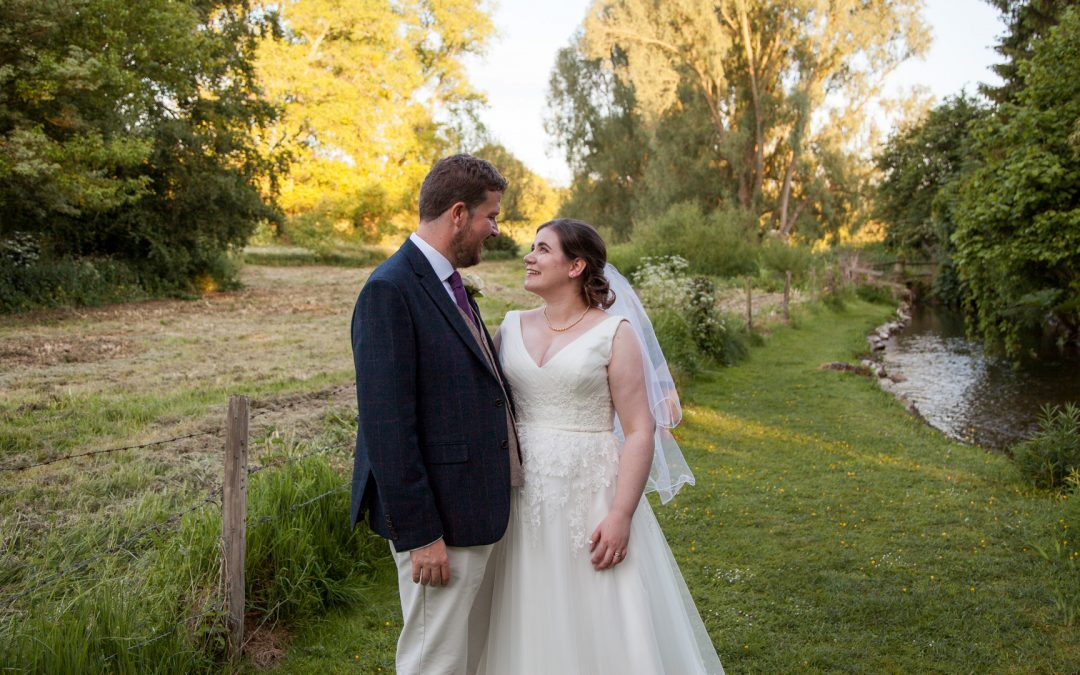 Classic English country church wedding for Jen and Stewart