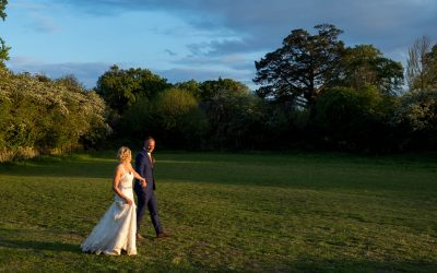 Rustic barn wedding at The Three Tuns, Bransgore, for Janine and Matt