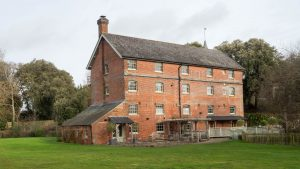 Exterior view of Sopley Mill. Hampshire