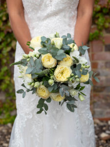 Bridal bouquet created by Judy Webb Florist, Romsey – Dom Brenton Photography